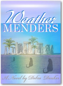Cover of Cli Fi Novel, Weather Menders by Debra Denker