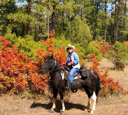 Debra on Charlie Horse